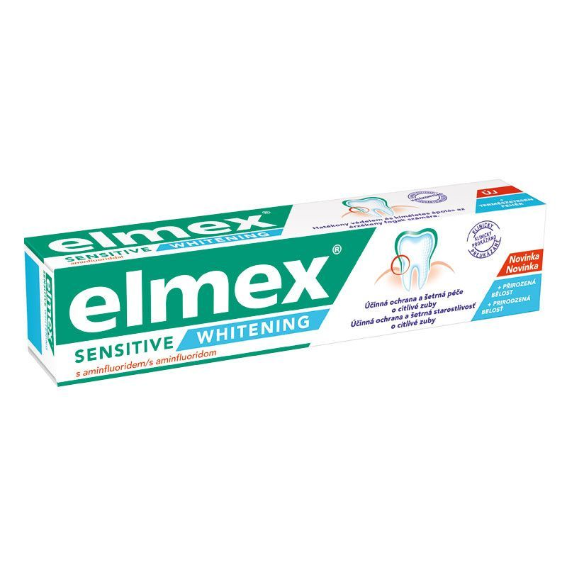 Elmex sensitive whitening 75ml