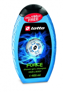 Lotto Sprchový gel + šampon Force 400ml