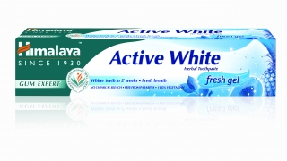 Himalaya Herbals zubní pasta Active white gel 75 ml